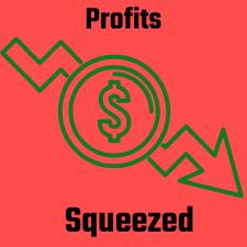 profits squeezed